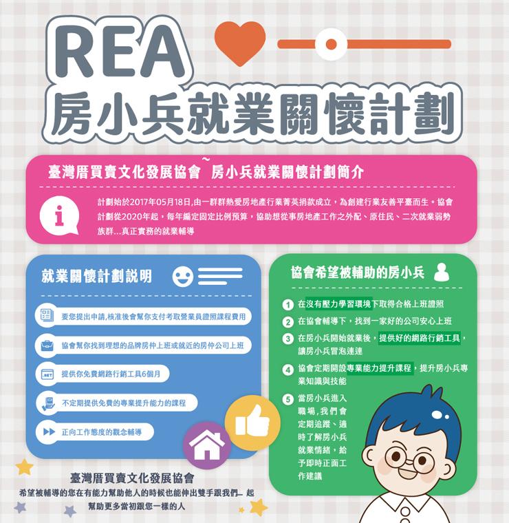 REA關懷啟航計畫